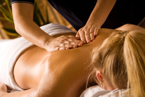Many people get therapeutic massage for relief of stress and tension.